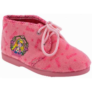 Pantofi Fete Botoșei bebelusi Barbie  roz