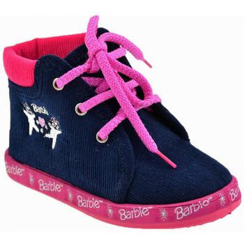Pantofi Fete Botoșei bebelusi Barbie  albastru