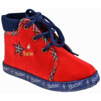 Pantofi Copii Botoșei bebelusi Barbie  roșu