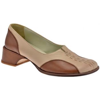 Pantofi Femei Balerin și Balerini cu curea Nci  Bej
