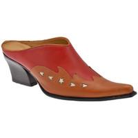 Pantofi Femei Saboti Nci  roșu