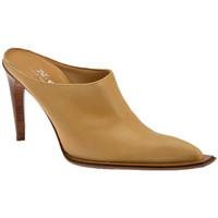 Pantofi Femei Saboti Nci  Bej