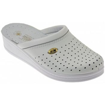 Pantofi Femei Saboti Sanital  Alb