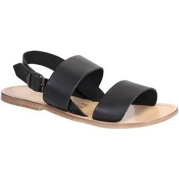 Pantofi Femei Sandale  Gianluca - L'artigiano Del Cuoio 500X U NERO LGT-CUOIO nero