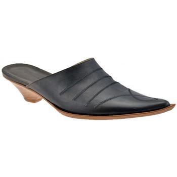 Pantofi Femei Saboti No End  Negru