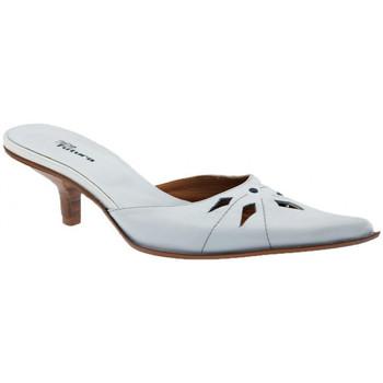 Pantofi Femei Saboti No End  Alb