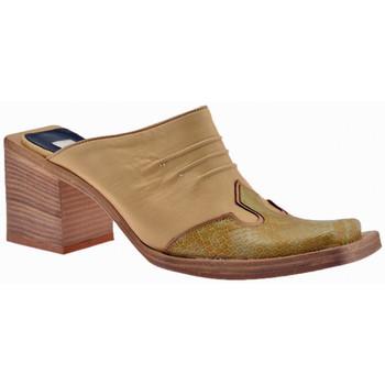 Pantofi Femei Saboti No End  Bej