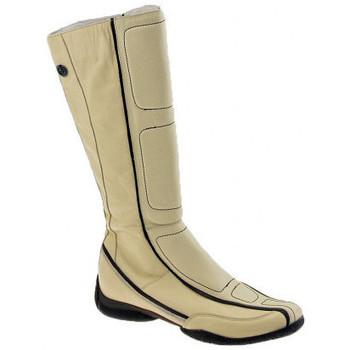 Pantofi Femei Cizme casual Janet&Janet  Bej