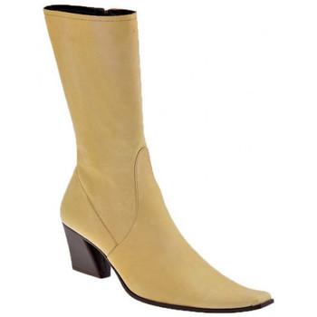 Pantofi Femei Botine Giancarlo Paoli  Bej