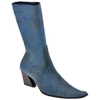Pantofi Femei Cizme casual Giancarlo Paoli  albastru