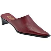 Pantofi Femei Saboti Strategia  roșu