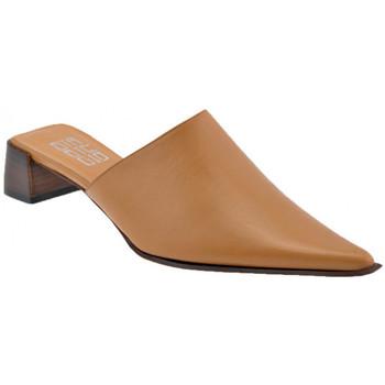 Pantofi Femei Saboti Strategia  Maro