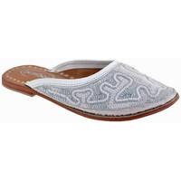 Pantofi Copii Saboti Bamboo  Alb