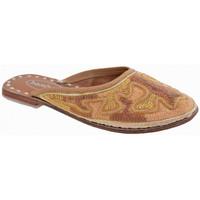 Pantofi Copii Saboti Bamboo  Auriu