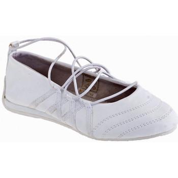 Pantofi Copii Balerin și Balerini cu curea Bamboo  Alb