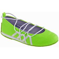 Pantofi Copii Balerin și Balerini cu curea Bamboo  verde