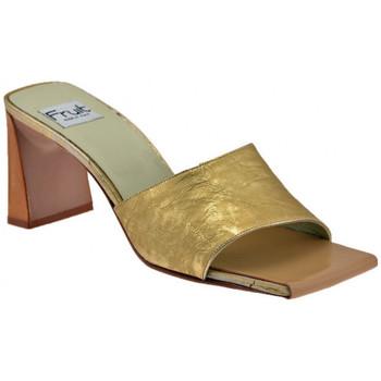 Pantofi Femei Papuci de vară Now  Auriu