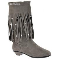Pantofi Copii Cizme casual Lelli Kelly  Gri