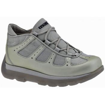 Pantofi Băieți Drumetie și trekking Kickers  Argintiu