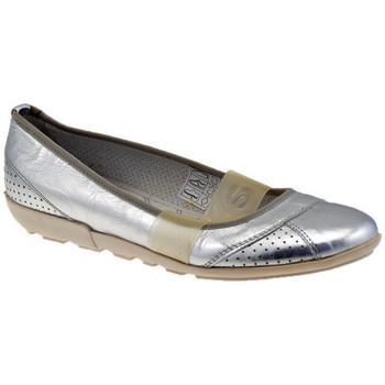Pantofi Femei Balerin și Balerini cu curea OXS  Argintiu