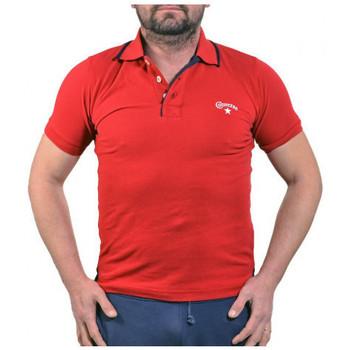 Îmbracaminte Bărbați Tricou Polo mânecă scurtă Converse  roșu