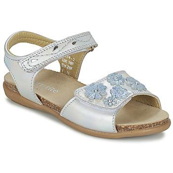 Pantofi Fete Sandale  Start Rite SUMMERS DAY Argintiu