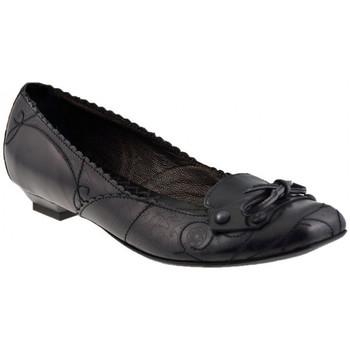 Pantofi Femei Balerin și Balerini cu curea Progetto  Negru