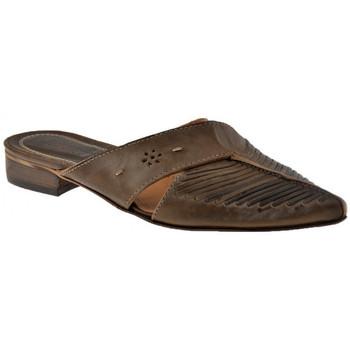 Pantofi Femei Saboti Progetto  verde