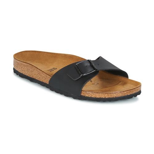 Pantofi Femei Papuci de vară Birkenstock MADRID Negru