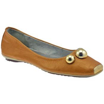 Pantofi Femei Balerin și Balerini cu curea Lea Foscati  Bej