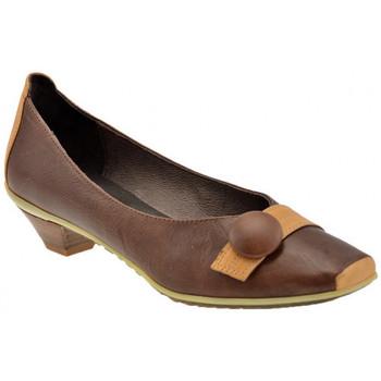 Pantofi Femei Balerin și Balerini cu curea Lea Foscati  Maro