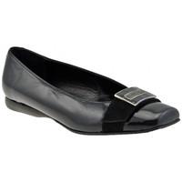 Pantofi Femei Balerin și Balerini cu curea Lea Foscati  Negru