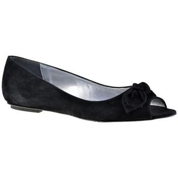 Pantofi Femei Balerin și Balerini cu curea Charlize Italia  Negru