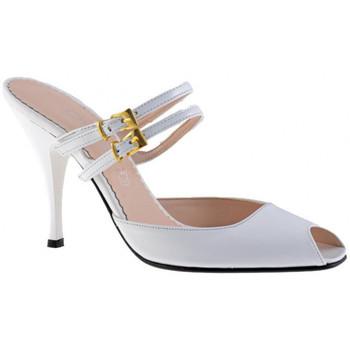 Pantofi Femei Saboti Charlize Italia  Alb