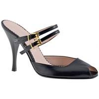 Pantofi Femei Saboti Charlize Italia  Negru