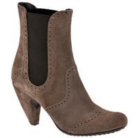 Pantofi Femei Botine Ssamzie  Maro