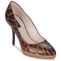 Pantofi Femei Pantofi cu toc Escada AS701 Maro / Leopard