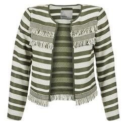 Îmbracaminte Femei Sacouri și Blazere Vero Moda FRILL Kaki / Ecru