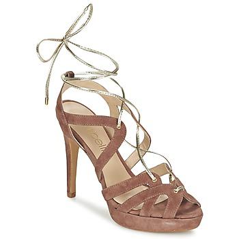Pantofi Femei Sandale și Sandale cu talpă  joasă Fericelli BAIOLA Nude