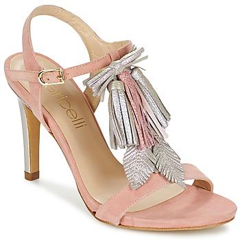 Pantofi Femei Sandale și Sandale cu talpă  joasă Fericelli PATIERNA Roz