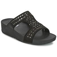 Încăltăminte Femei Papuci de vară FitFlop CARMEL SLIDE Negru
