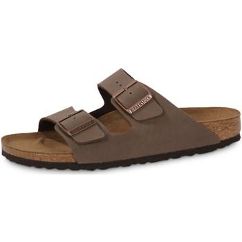 Pantofi Bărbați Papuci de vară Birkenstock Arizona Mocca Negru