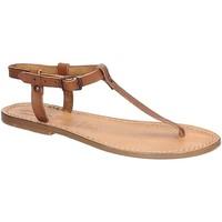 Pantofi Femei Sandale  Gianluca - L'artigiano Del Cuoio 532 D CUOIO CUOIO Cuoio