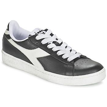 Încăltăminte Pantofi sport Casual Diadora GAME L LOW Negru / Alb