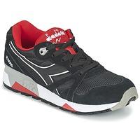 Încăltăminte Pantofi sport Casual Diadora N9000 NYLON II Negru / Roșu