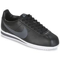 Pantofi Bărbați Pantofi sport Casual Nike CLASSIC CORTEZ LEATHER Negru / Gri