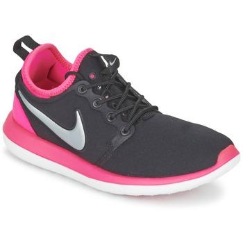 Pantofi Fete Pantofi sport Casual Nike ROSHE TWO JUNIOR Negru / Roz