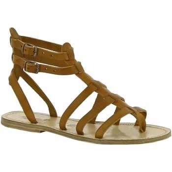 Pantofi Femei Sandale  Gianluca - L'artigiano Del Cuoio 506 D CUOIO LGT-CUOIO Cuoio