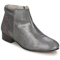 Pantofi Femei Ghete Alba Moda FLONI Argintiu