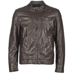 Îmbracaminte Bărbați Jachete din piele și material sintetic Benetton HOULO Maro